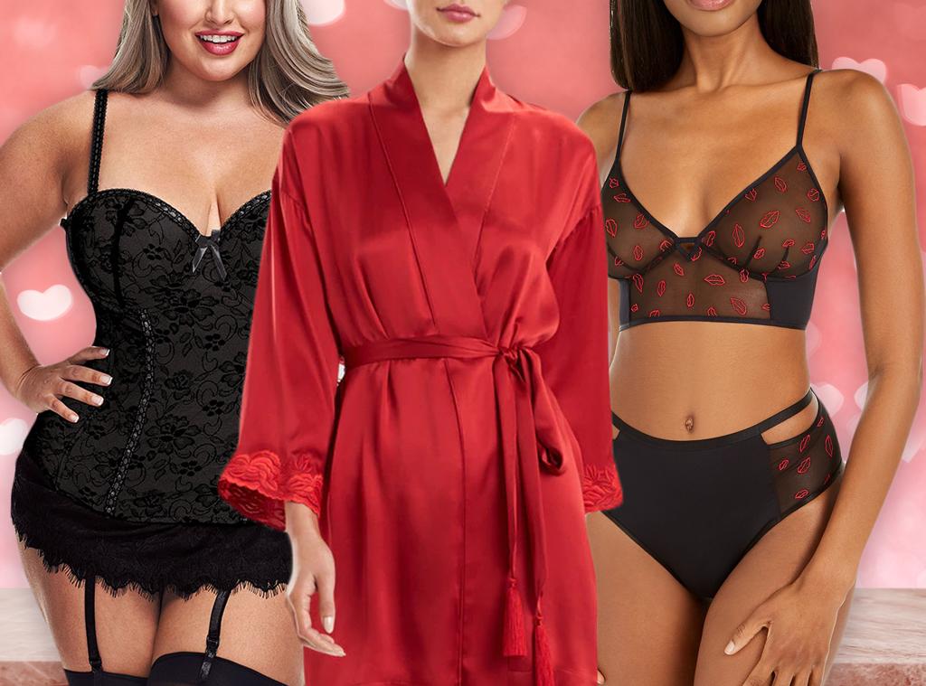 E-Comm: Valentine's Day Lingerie & Undies