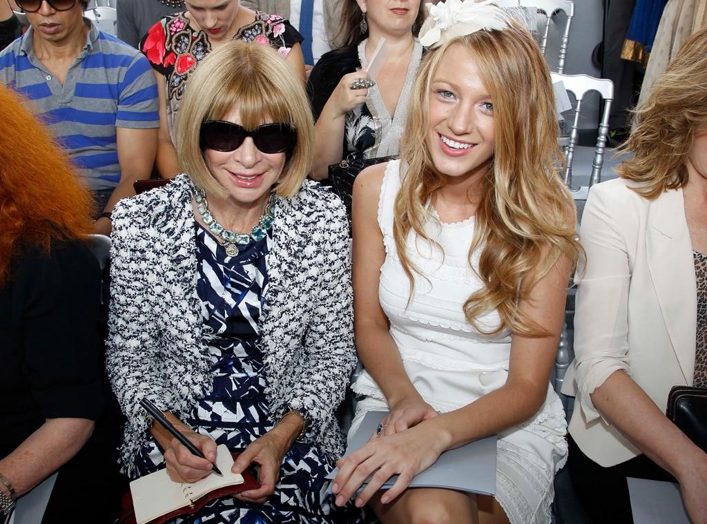 Fashion Week 2010, Anna Wintour, Blake Lively