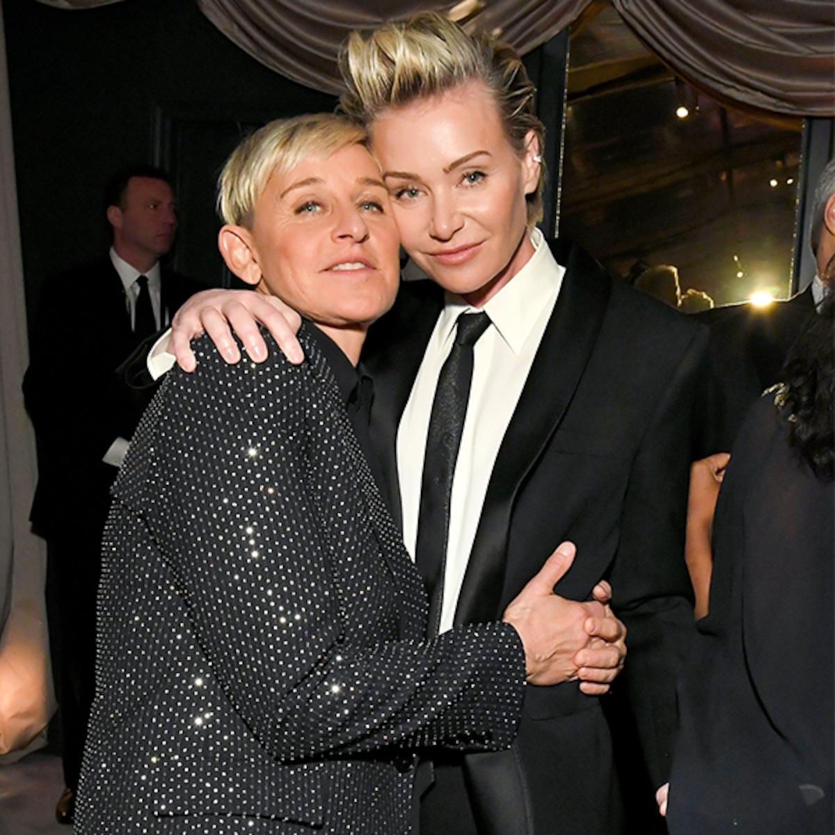 Ellen Degeneres And Portia De Rossi S Life Altering Love Story E Online
