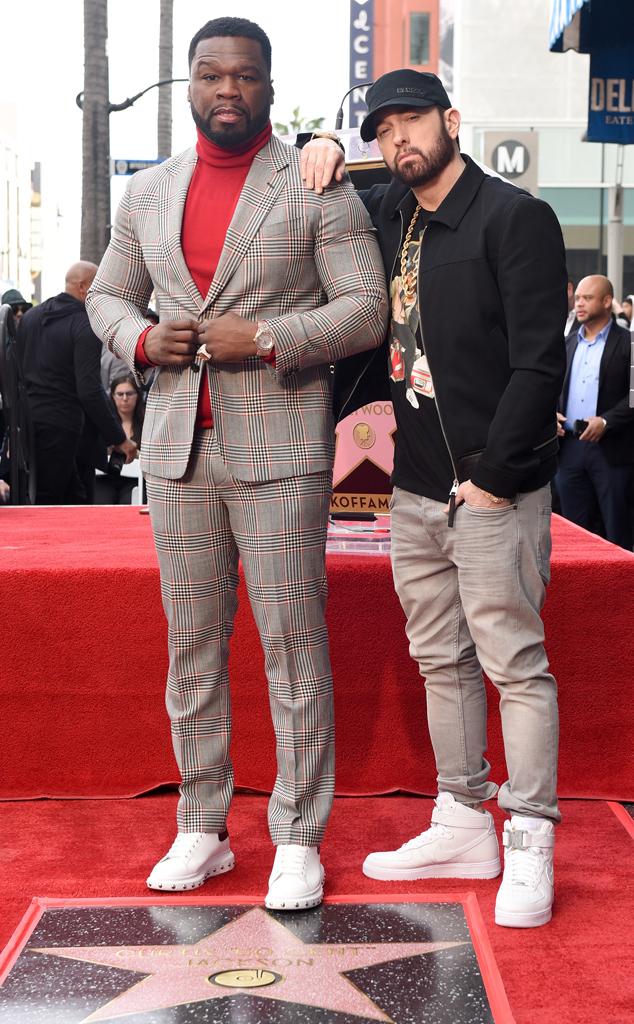 Eminem, 50 Cent, Hollywood Walk of Fame
