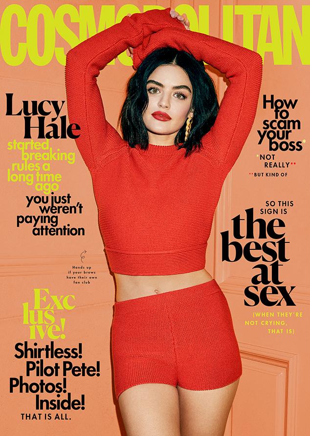 Lucy Hale, Cosmopolitan 2020