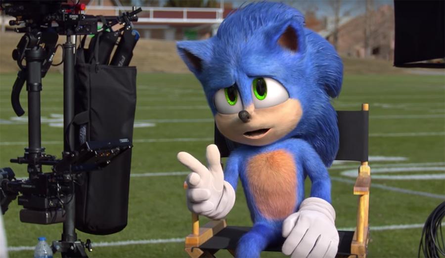 Sonic the Hedgehog, Super Bowl 2020, Ad