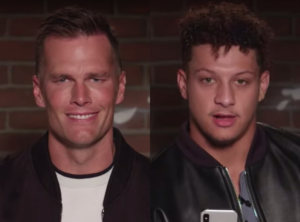 Tom Brady, Patrick Mahomes, Mean Tweets