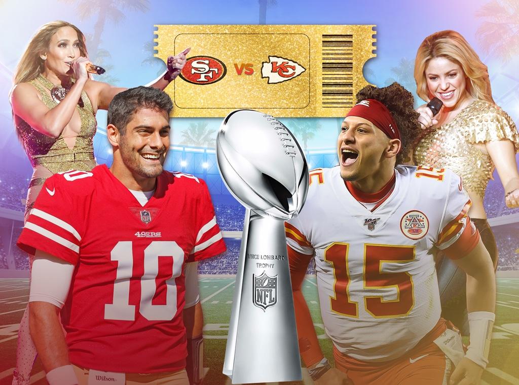 Super Bowl Feature, San Francisco 49ers, Kansas City Chiefs, Jennier Lopes, Shakira