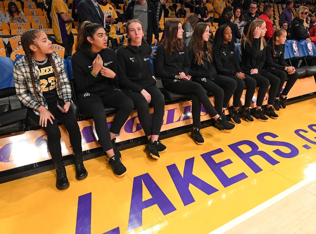 Lakers Game, Kobe Bryant Tribute