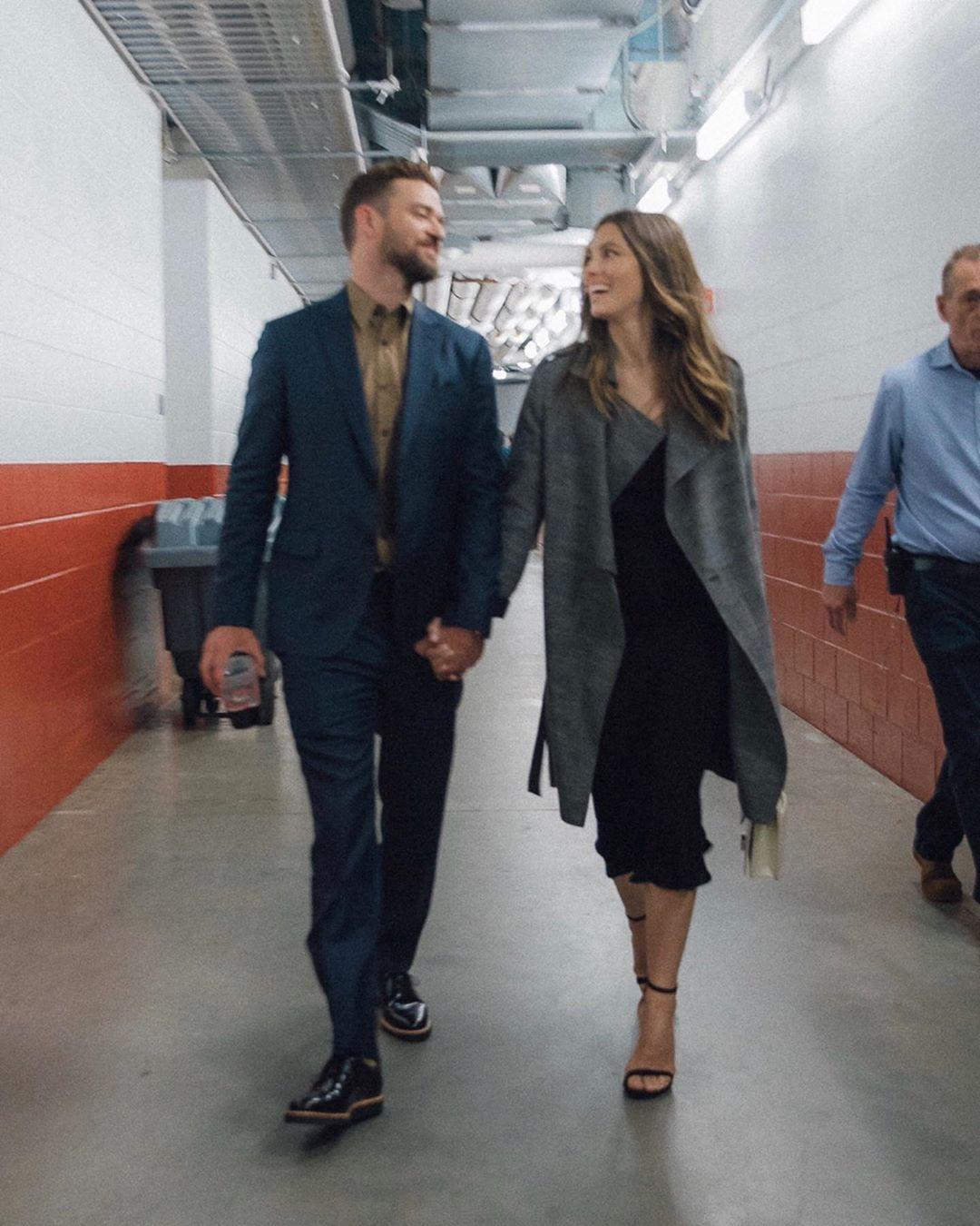 Jessica Biel, Justin Timberlake, Instagram