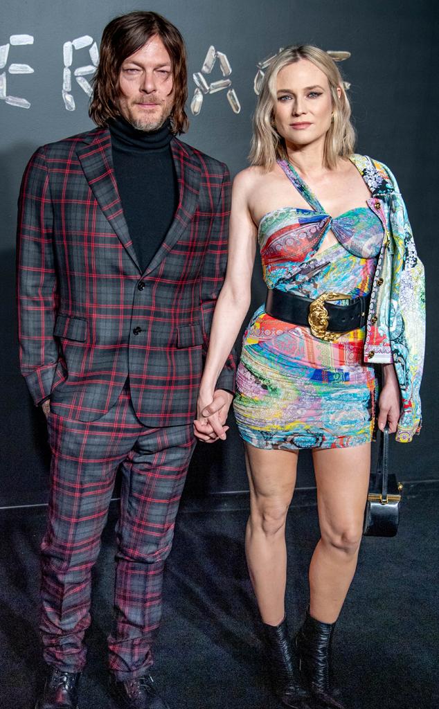 Norman Reedus, Diane Kruger