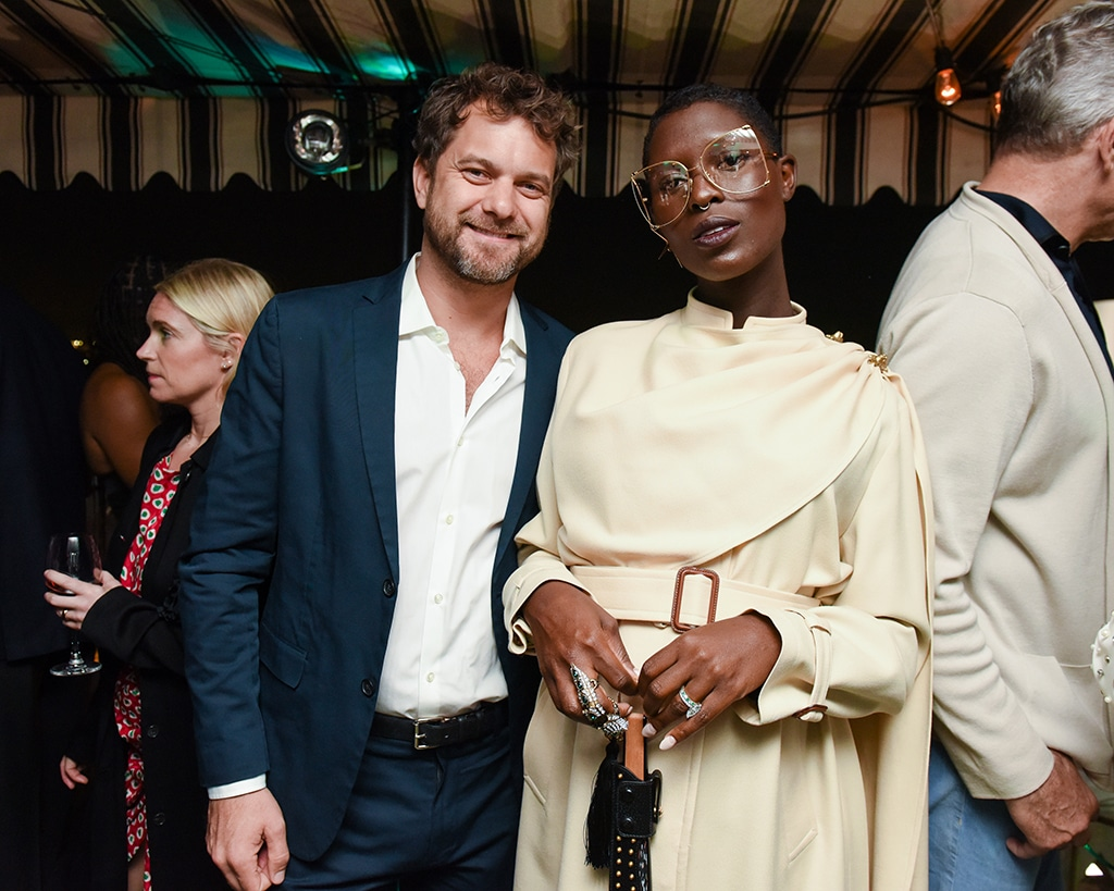Joshua Jackson, Jodie Turner-Smith, Pre-2020 Golden Globes W Magazine Party