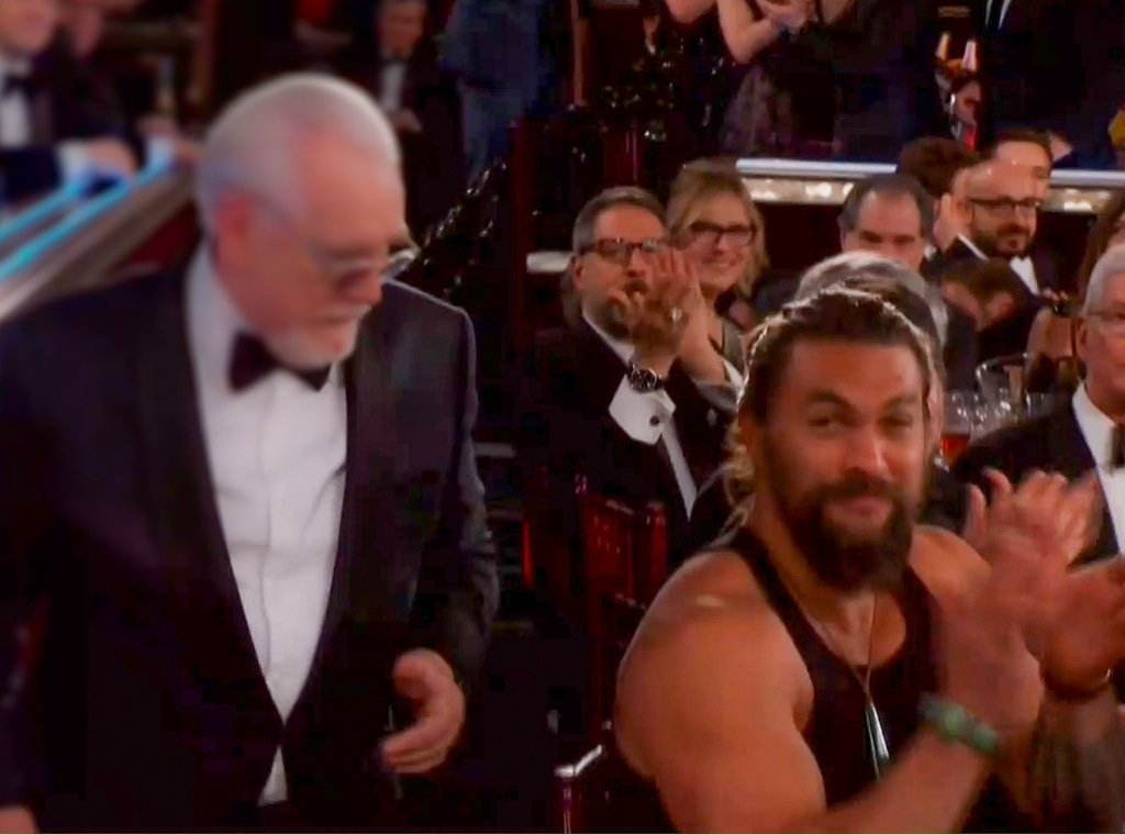 Jason Momoa, 2020 Golden Globe Awards
