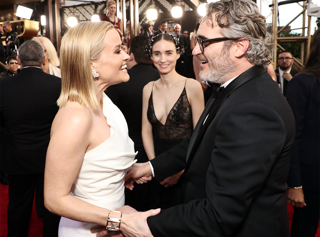 Reese Witherspoon, Joaquin Phoenix, Reunions at the Globes, 2020 Golden Globes