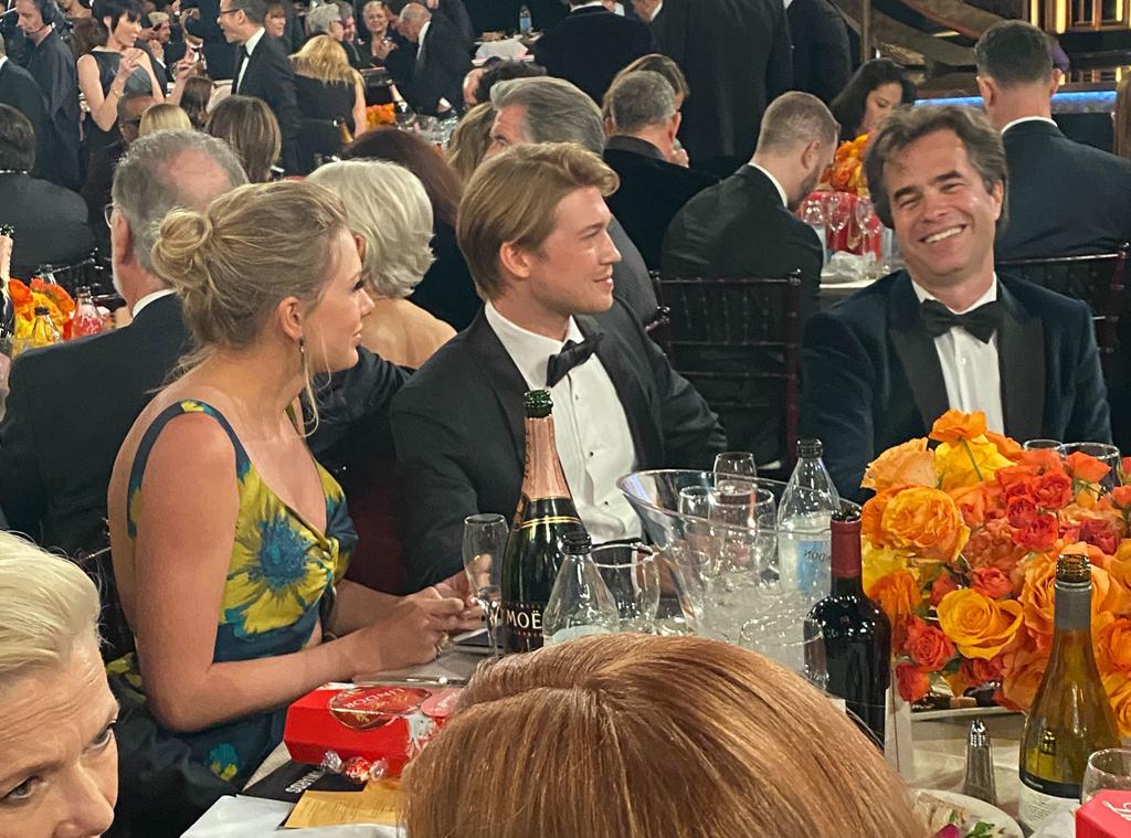 Taylor Swift, Joe Alwyn, 2020 Golden Globe Awards, E! reporting