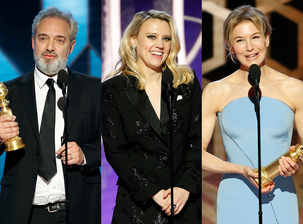 Sam Mendes, Kate McKinnon, Renee Zellweger, 2020 Golden Globe Awards