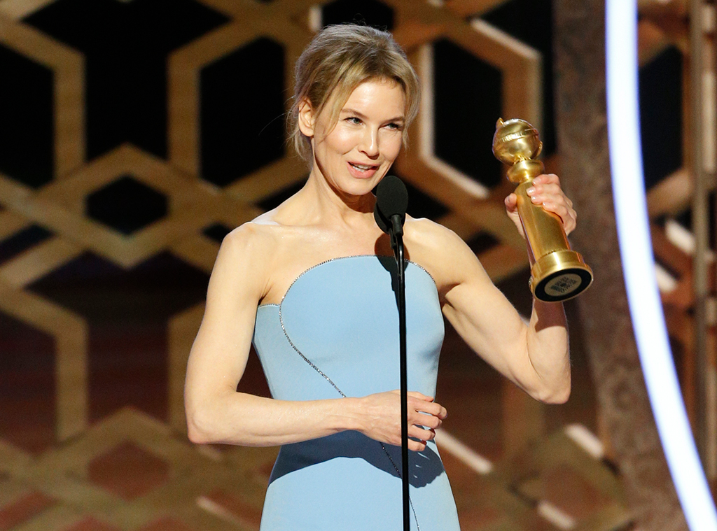 Renee Zellweger, 2020 Golden Globe Awards, Winners