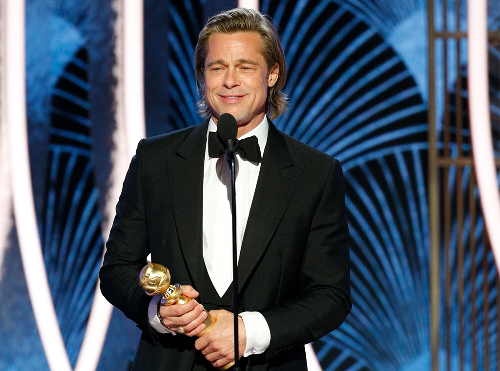 Brad Pitt, 2020 Golden Globe Awards, Winners