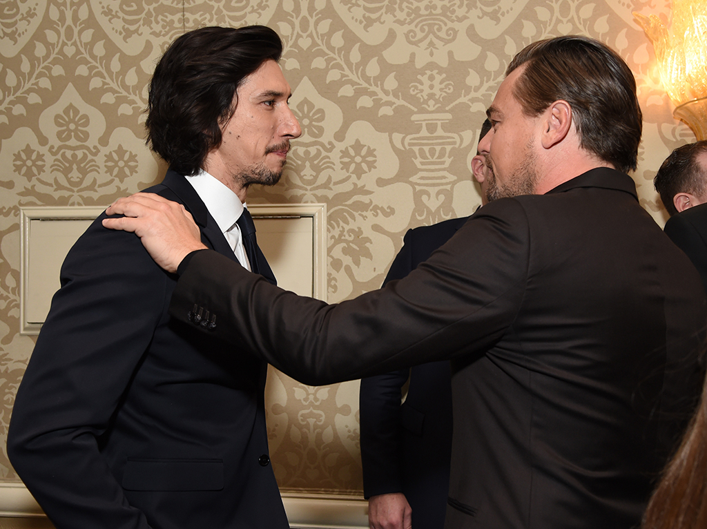 Adam Driver, Leonardo DiCaprio, Pre-Golden Globes Party 2020, BAFTA Tea Party