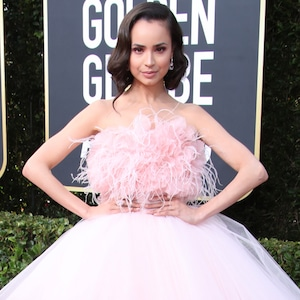 Sofia Carson, 2020 Golden Globe Awards, Red Carpet Fashion