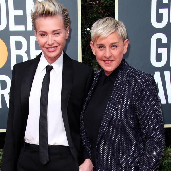 "Ellen DeGeneres Thanks Her ""Husband Mark"" During Hilarious 2020 Golden Globes Acceptance Speech"