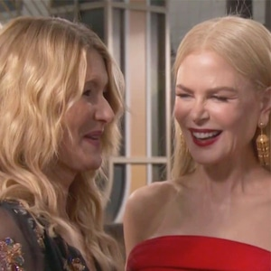 Laura Dern, Nicole Kidman, 2020 Golden Globes