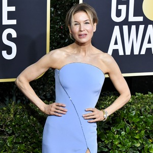 Renee Zellweger, 2020 Golden Globe Awards, Red Carpet Fashion