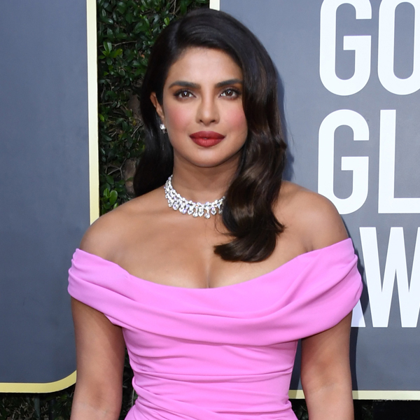 How Priyanka Chopra Achieved Her Gorgeous Old Hollywood Hairstyle at the 2020 Golden Globes
