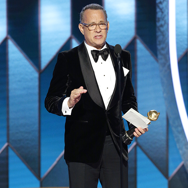 Tom Hanks Gets Emotional Over Wife Rita Wilson During Epic Speech at 2020 Golden Globes