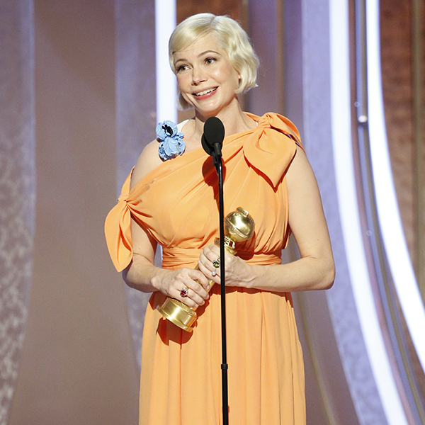 Michelle Williams Delivers Powerful Speech About Women's Rights at the 2020 Golden Globes