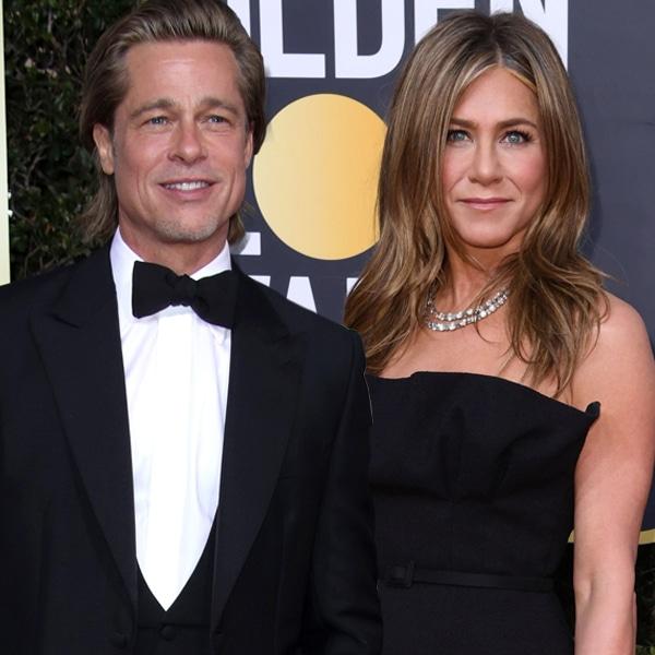 Brad Pitt, Jennifer Aniston, 2020 Golden Globe Awards