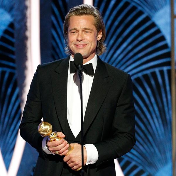 Brad Pitt, 2020 Golden Globe Awards, Winners