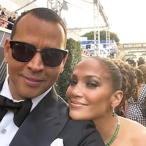 Jennifer Lopez, Alex Rodriguez, Instagram, Golden Globes