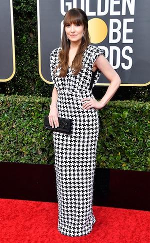 Lorene Scafaria, 2020 Golden Globe Awards, Red Carpet Fashion