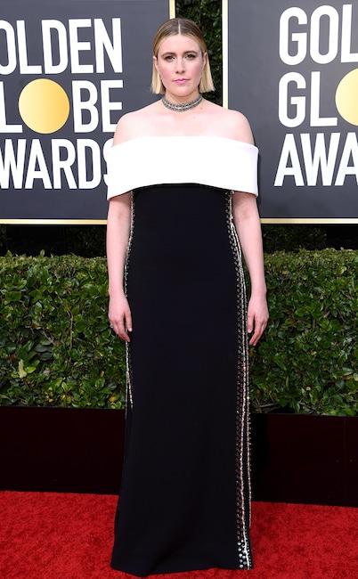 Greta Gerwig, 2020 Golden Globe Awards, Red Carpet Fashion