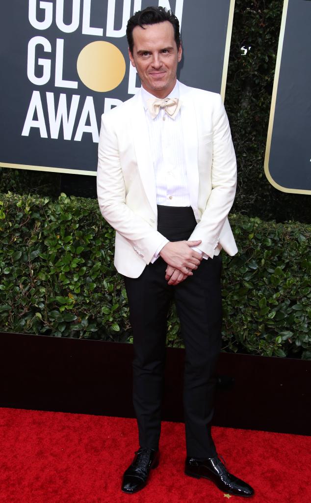 Andrew Scott, 2020 Golden Globe Awards, Red Carpet Fashion