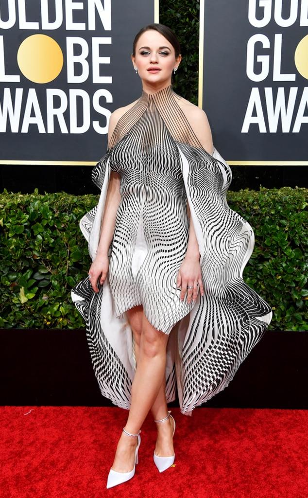 Joey King, 2020 Golden Globe Awards, Red Carpet Fashion