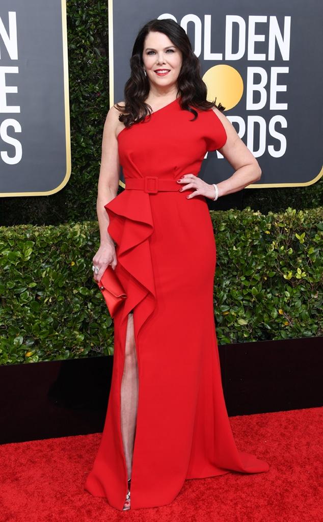 Lauren Graham, 2020 Golden Globe Awards, Red Carpet Fashion