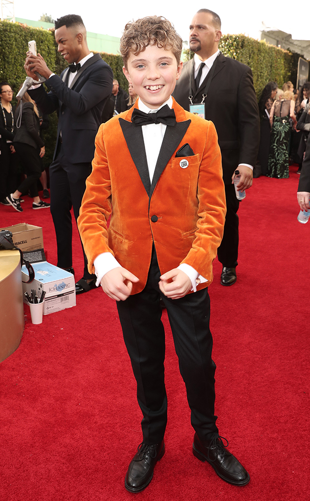 Roman Griffin Davis, 2020 Golden Globe Awards