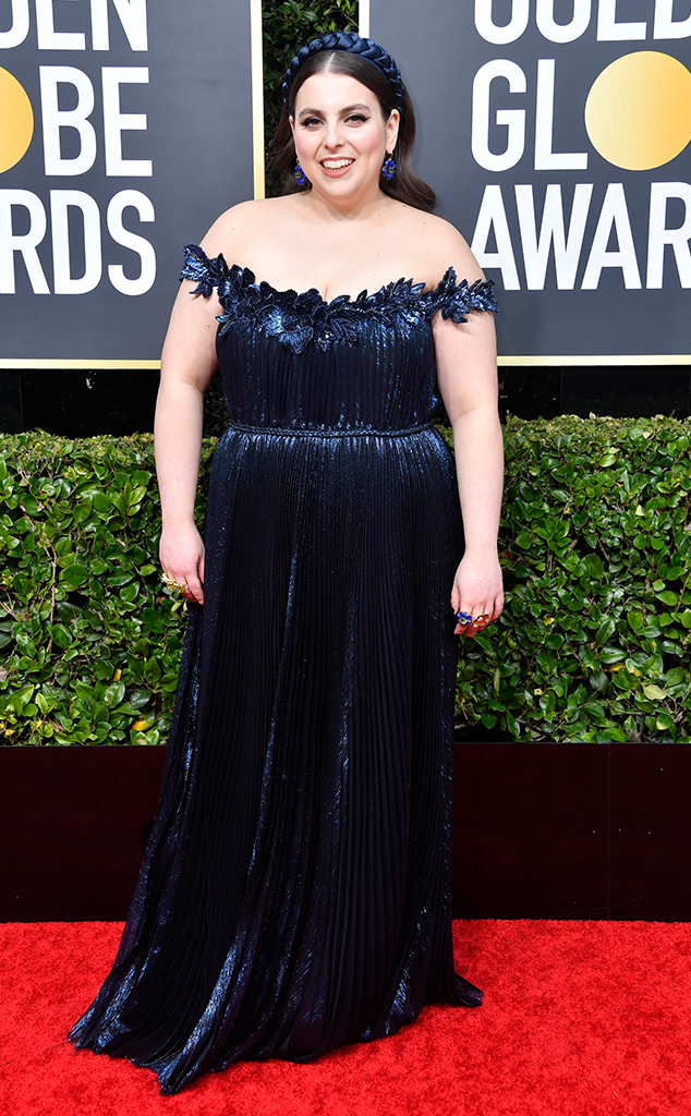 Beanie Feldstein, 2020 Golden Globe Awards, Red Carpet Fashion