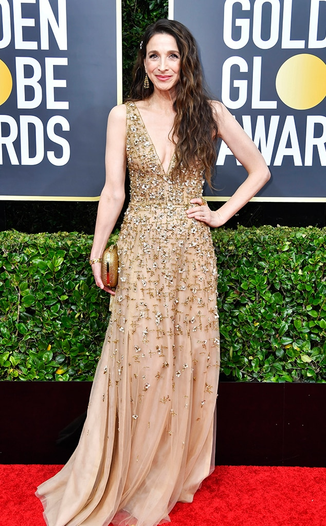 Image result for marin hinkle 2020 golden globes