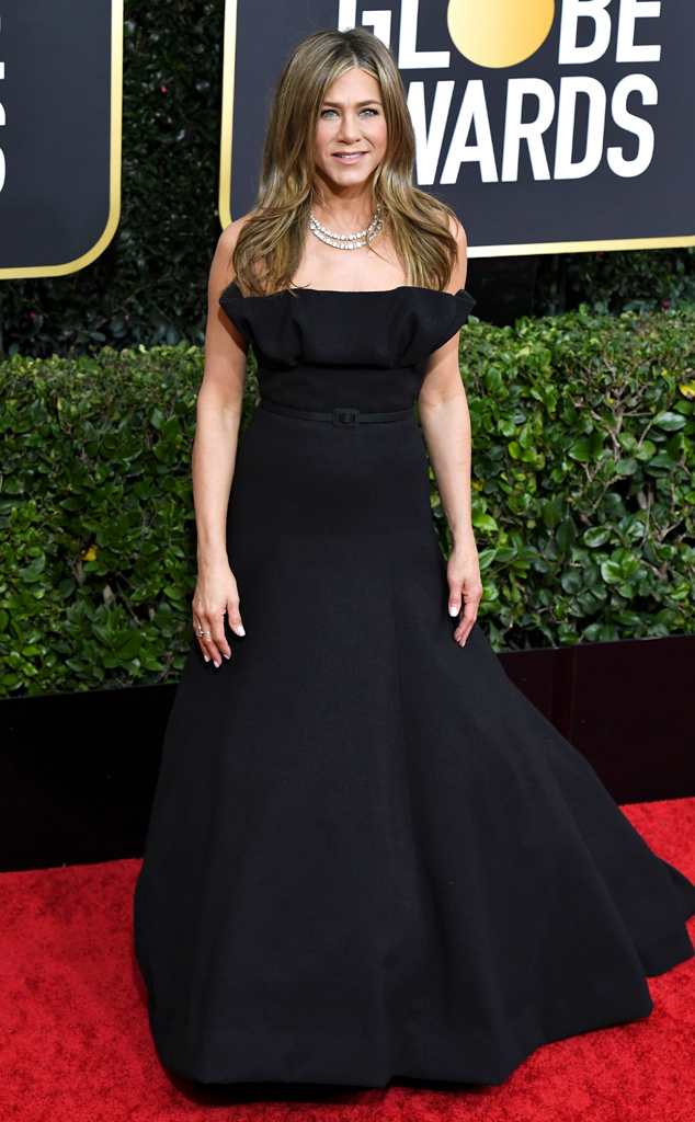 Jennifer Aniston, 2020 Golden Globe Awards, Red Carpet Fashion
