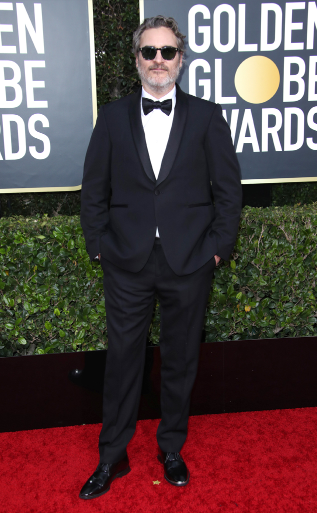 Joaquin Phoenix, 2020 Golden Globe Awards, Red Carpet Fashion