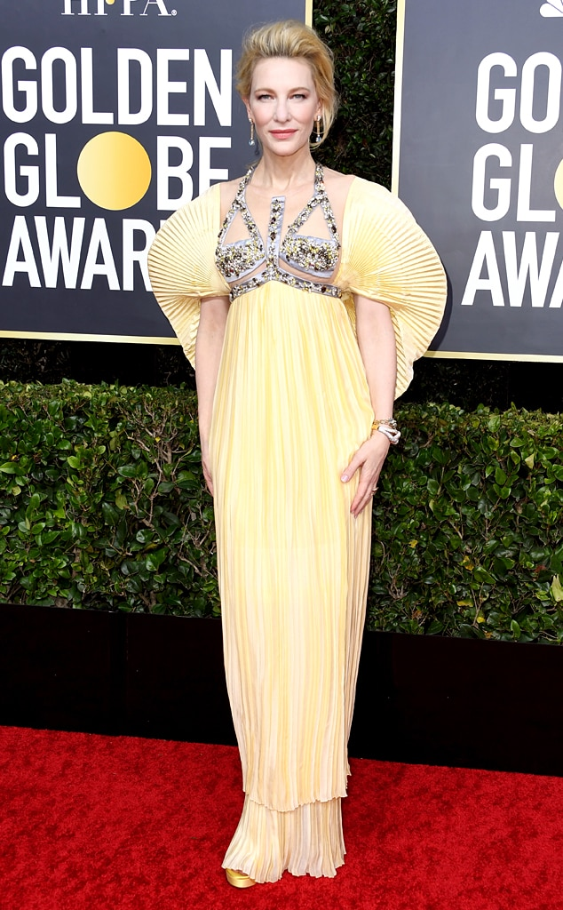 Cate Blanchett, 2020 Golden Globe Awards, Red Carpet Fashion