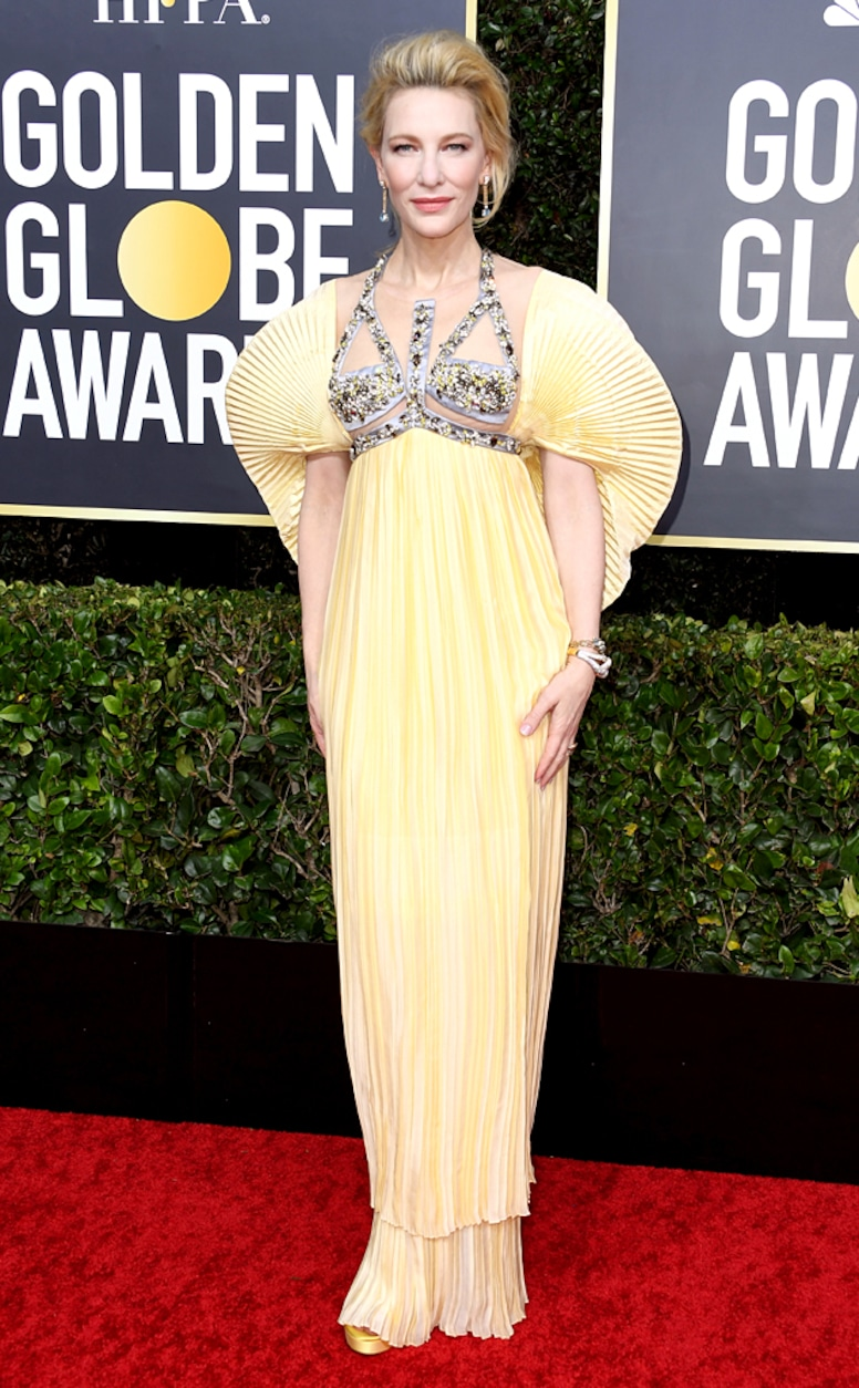 Cate Blanchett, 2020 Golden Globe Awards, Red Carpet Fashion