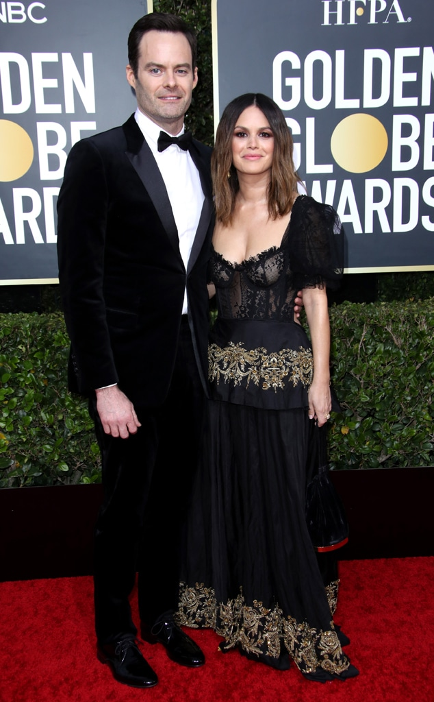 Bill Hader, Rachel Bilson, 2020 Golden Globe Awards, Couples