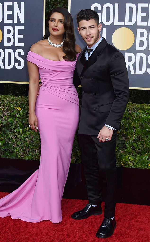 Priyanka Chopra, Nick Jonas, 2020 Golden Globe Awards, Couples