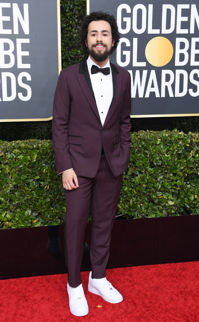 Ramy Youssef, 2020 Golden Globe Awards, Red Carpet Fashion