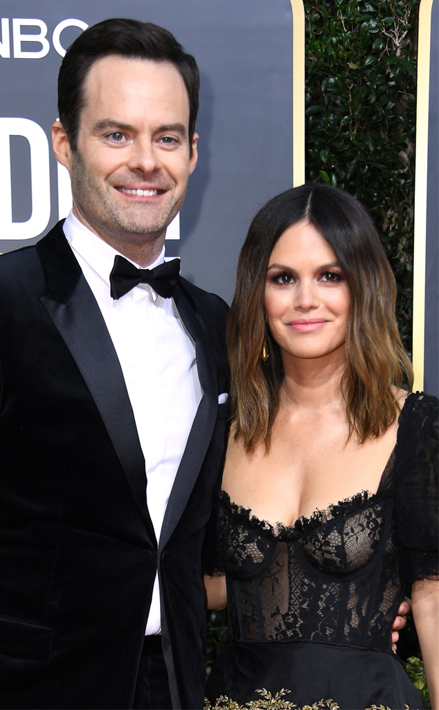 Bill Hader, Rachel Bilson, 2020 Golden Globe Awards