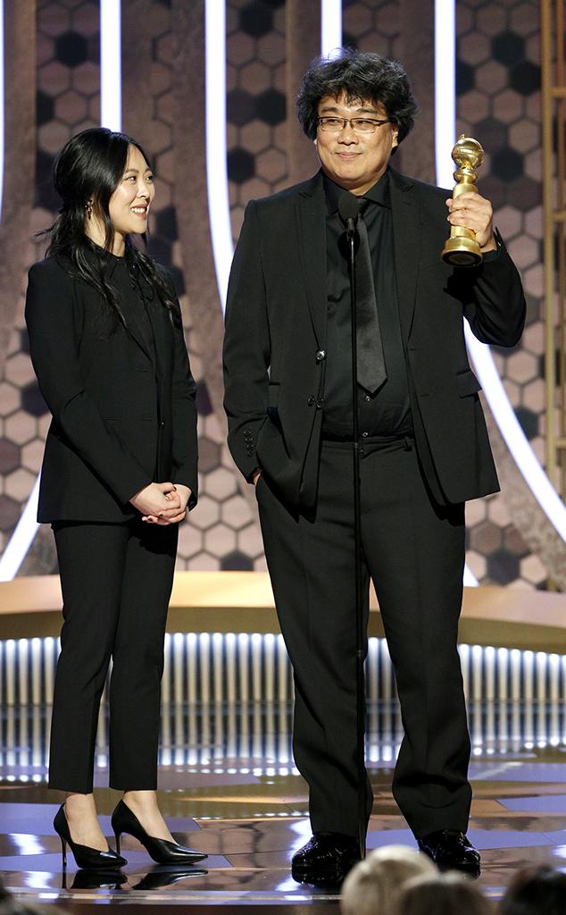 Bong Joon Ho, Bong Joon-Ho, 2020 Golden Globes, Winners