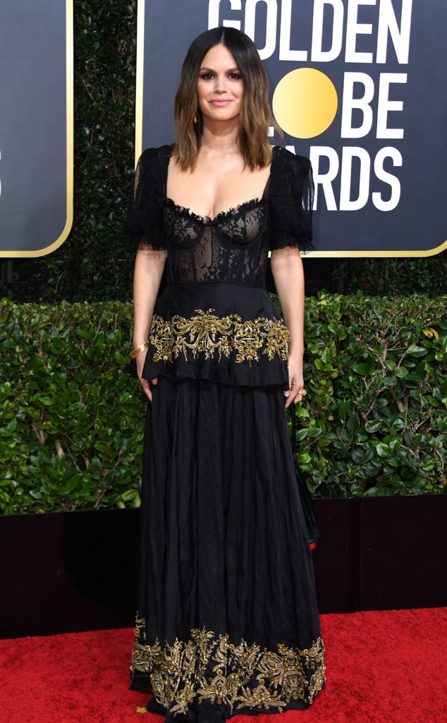 Rachel Bilson, 2020 Golden Globe Awards, Red Carpet Fashion