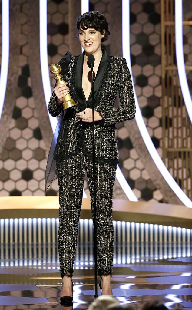 Phoebe Waller-Bridge, 2020 Golden Globes, Winners