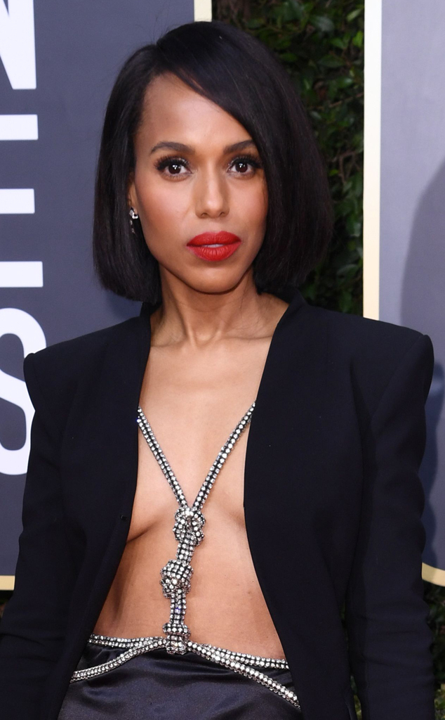 Kerry Washington, 2020 Golden Globe Awards, Best Accessories