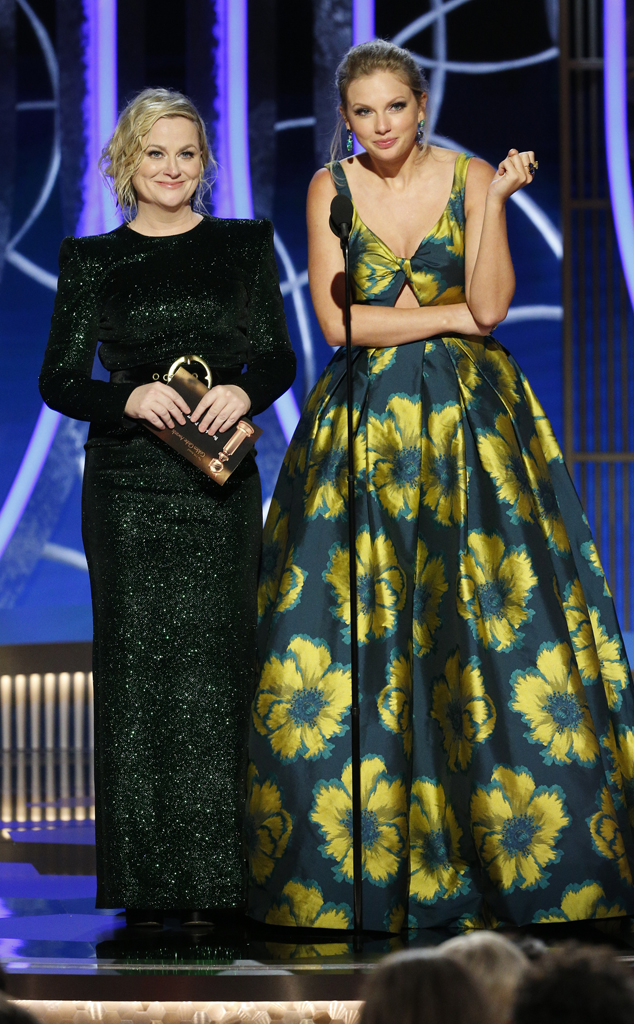 Amy Poehler, Taylor Swift, 2020 Golden Globes, Show